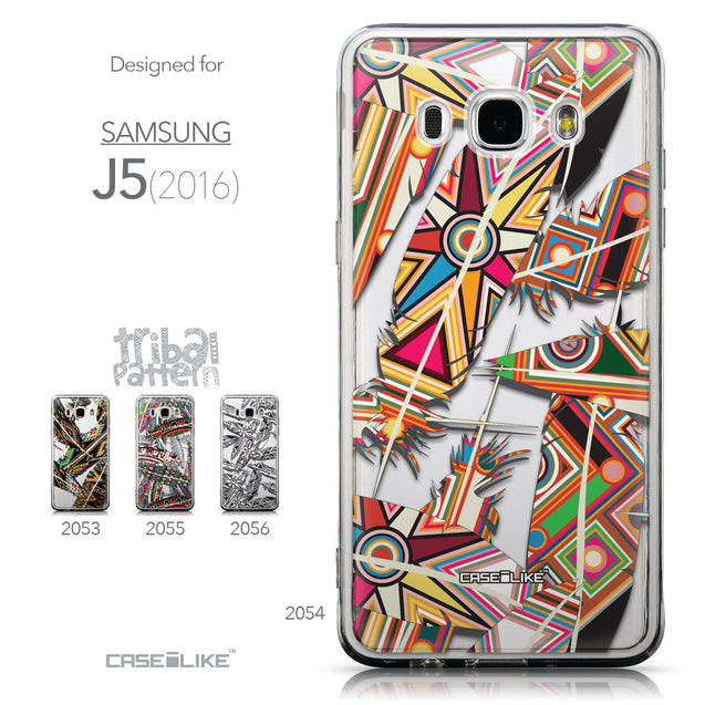 Collection - CASEiLIKE Samsung Galaxy J5 (2016) back cover Indian Tribal Theme Pattern 2054