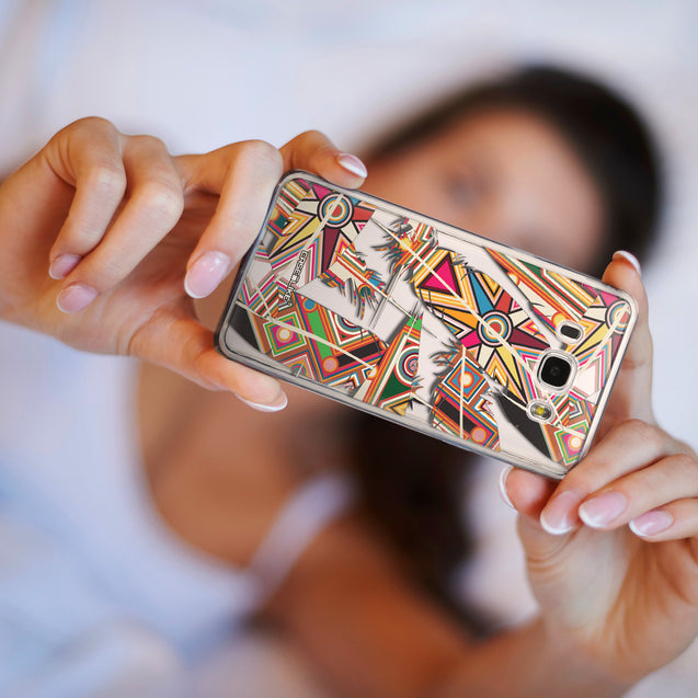 Share - CASEiLIKE Samsung Galaxy J5 (2016) back cover Indian Tribal Theme Pattern 2054