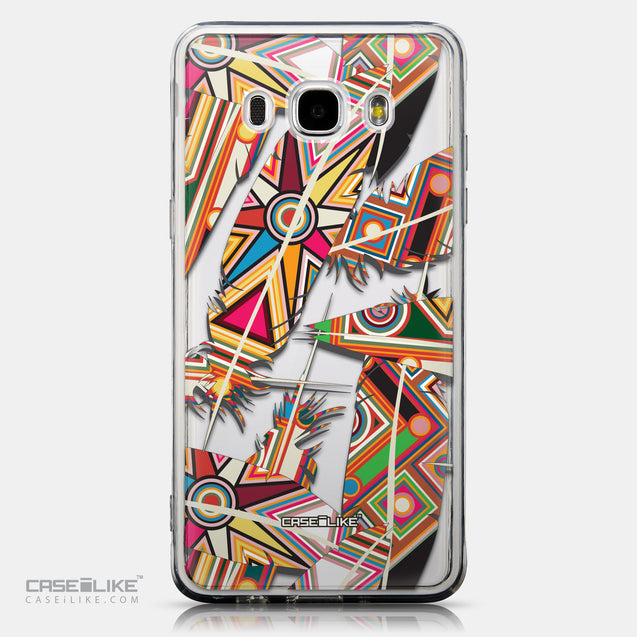 CASEiLIKE Samsung Galaxy J5 (2016) back cover Indian Tribal Theme Pattern 2054