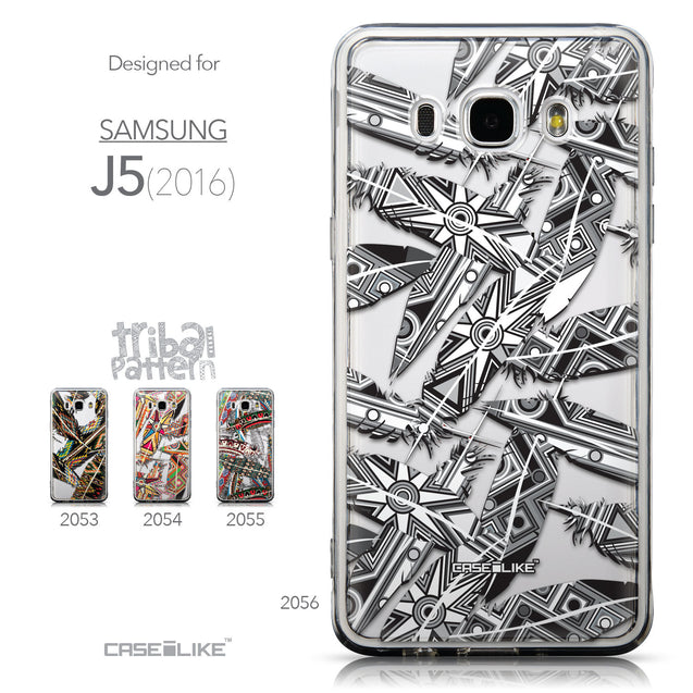 Collection - CASEiLIKE Samsung Galaxy J5 (2016) back cover Indian Tribal Theme Pattern 2056