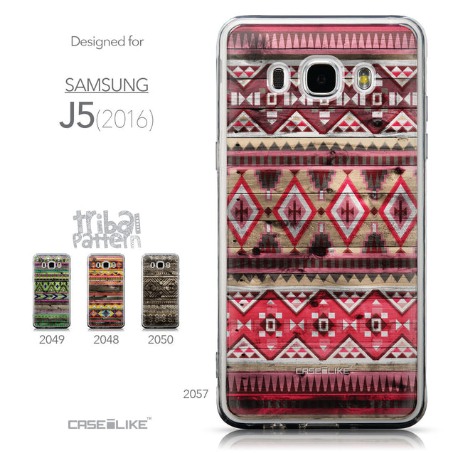 Collection - CASEiLIKE Samsung Galaxy J5 (2016) back cover Indian Tribal Theme Pattern 2057