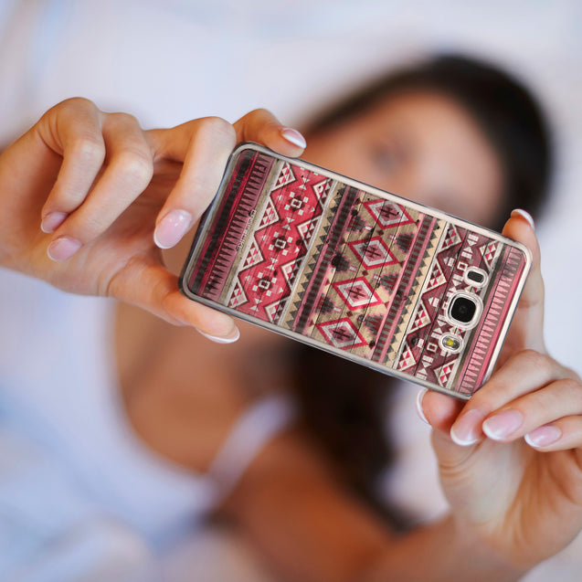 Share - CASEiLIKE Samsung Galaxy J5 (2016) back cover Indian Tribal Theme Pattern 2057