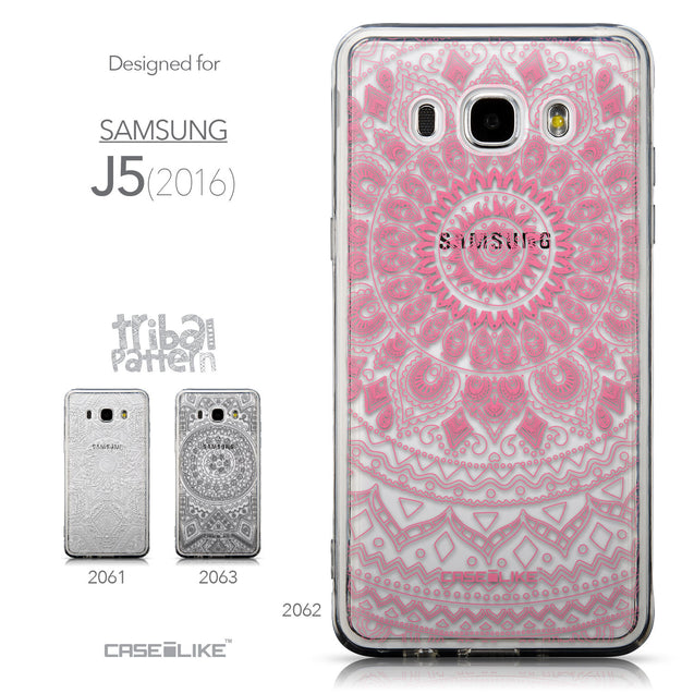 Collection - CASEiLIKE Samsung Galaxy J5 (2016) back cover Indian Line Art 2062