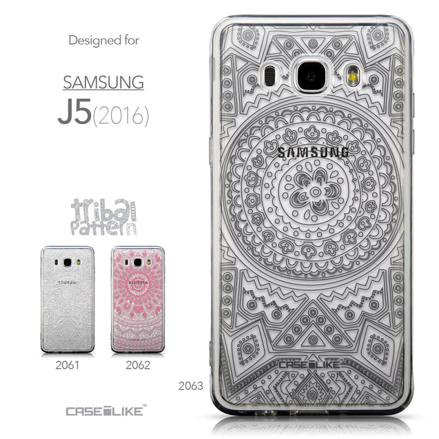Collection - CASEiLIKE Samsung Galaxy J5 (2016) back cover Indian Line Art 2063