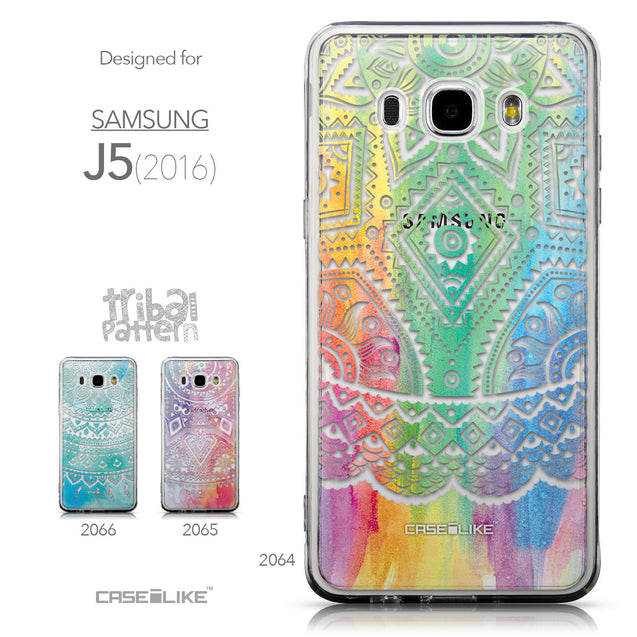 Collection - CASEiLIKE Samsung Galaxy J5 (2016) back cover Indian Line Art 2064