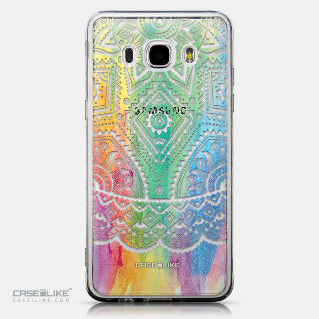 CASEiLIKE Samsung Galaxy J5 (2016) back cover Indian Line Art 2064