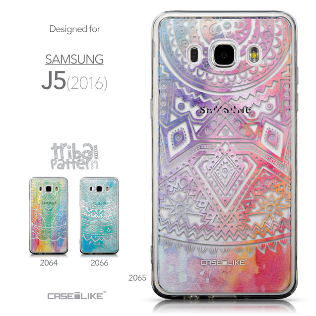Collection - CASEiLIKE Samsung Galaxy J5 (2016) back cover Indian Line Art 2065