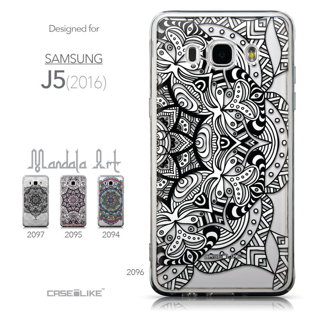 Collection - CASEiLIKE Samsung Galaxy J5 (2016) back cover Mandala Art 2096