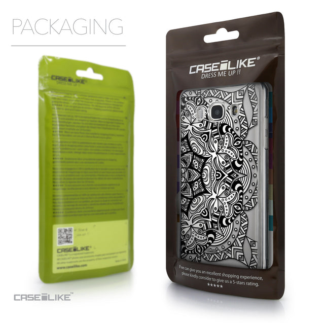 Packaging - CASEiLIKE Samsung Galaxy J5 (2016) back cover Mandala Art 2096