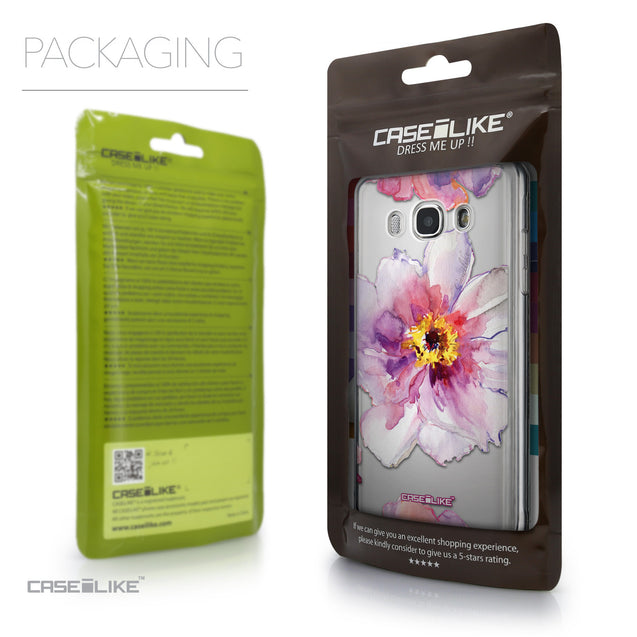 Packaging - CASEiLIKE Samsung Galaxy J5 (2016) back cover Watercolor Floral 2231