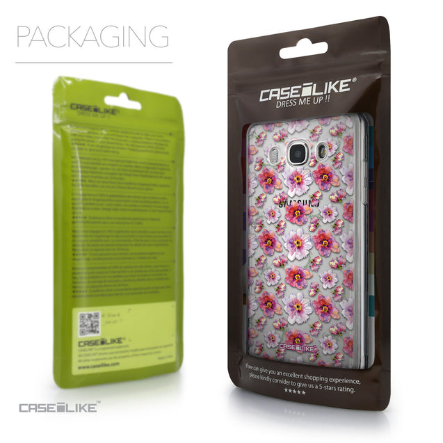 Packaging - CASEiLIKE Samsung Galaxy J5 (2016) back cover Watercolor Floral 2232