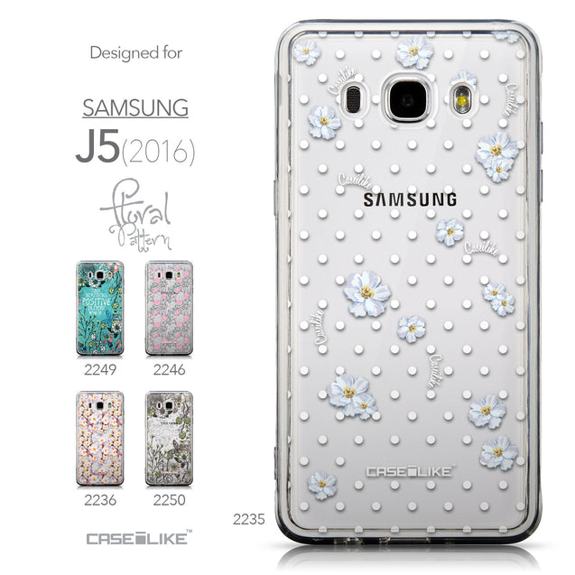 Collection - CASEiLIKE Samsung Galaxy J5 (2016) back cover Indian Line Art 2061