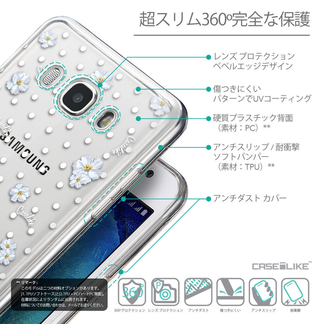 Details in Japanese - CASEiLIKE Samsung Galaxy J5 (2016) back cover Indian Line Art 2061