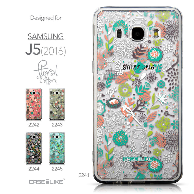 Collection - CASEiLIKE Samsung Galaxy J5 (2016) back cover Spring Forest White 2241