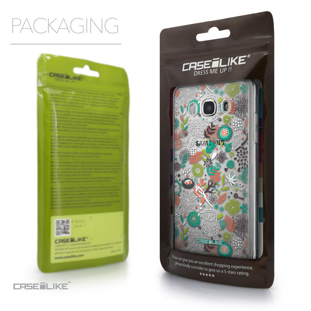 Packaging - CASEiLIKE Samsung Galaxy J5 (2016) back cover Spring Forest White 2241
