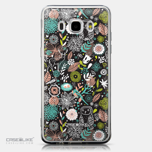 CASEiLIKE Samsung Galaxy J5 (2016) back cover Spring Forest Black 2244