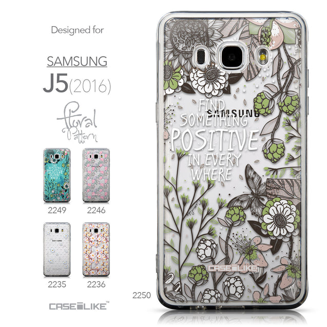 Collection - CASEiLIKE Samsung Galaxy J5 (2016) back cover Blooming Flowers 2250