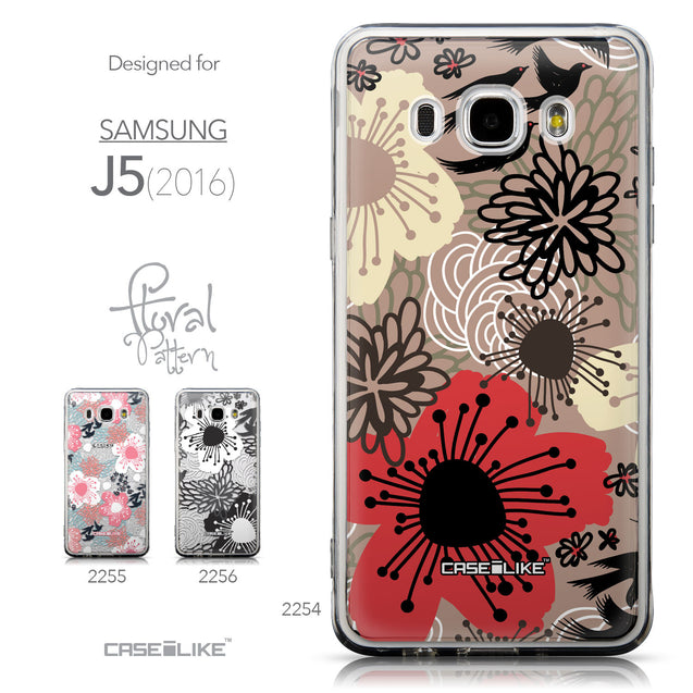 Collection - CASEiLIKE Samsung Galaxy J5 (2016) back cover Japanese Floral 2254
