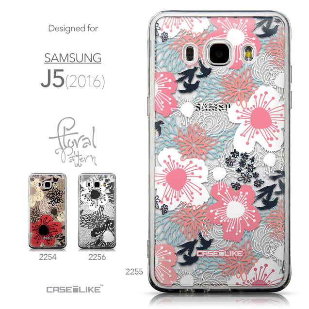 Collection - CASEiLIKE Samsung Galaxy J5 (2016) back cover Japanese Floral 2255