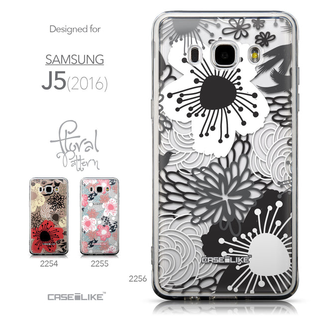 Collection - CASEiLIKE Samsung Galaxy J5 (2016) back cover Japanese Floral 2256