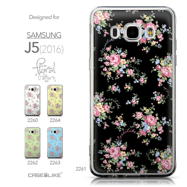 Collection - CASEiLIKE Samsung Galaxy J5 (2016) back cover Floral Rose Classic 2261