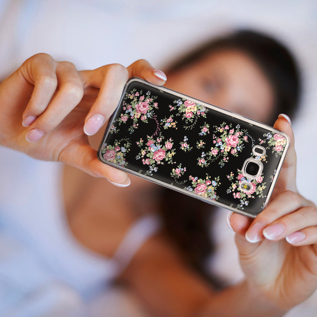 Share - CASEiLIKE Samsung Galaxy J5 (2016) back cover Floral Rose Classic 2261