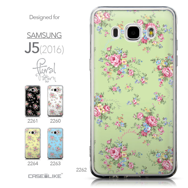 Collection - CASEiLIKE Samsung Galaxy J5 (2016) back cover Floral Rose Classic 2262