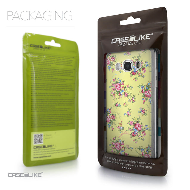 Packaging - CASEiLIKE Samsung Galaxy J5 (2016) back cover Floral Rose Classic 2264