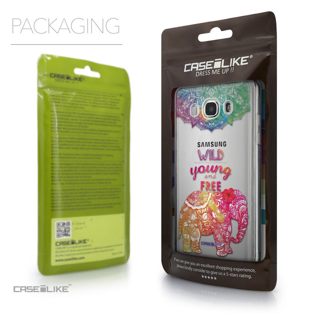 Packaging - CASEiLIKE Samsung Galaxy J5 (2016) back cover Mandala Art 2302