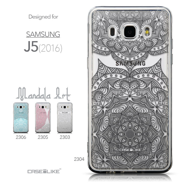 Collection - CASEiLIKE Samsung Galaxy J5 (2016) back cover Mandala Art 2304