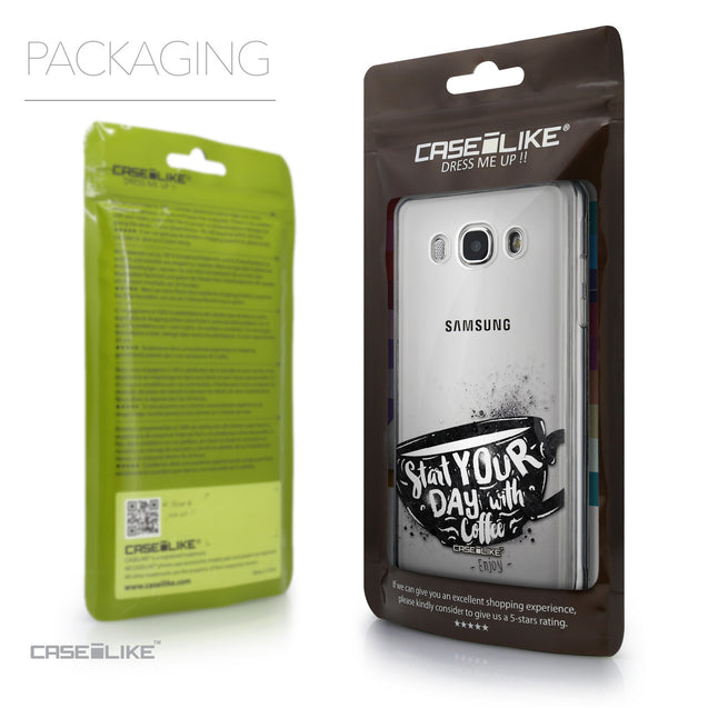 Packaging - CASEiLIKE Samsung Galaxy J5 (2016) back cover Quote 2402