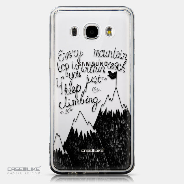 CASEiLIKE Samsung Galaxy J5 (2016) back cover Quote 2403