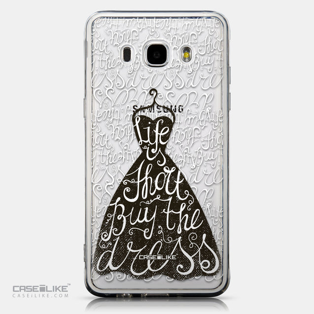 CASEiLIKE Samsung Galaxy J5 (2016) back cover Quote 2404