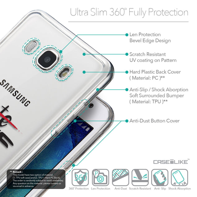 Details in English - CASEiLIKE Samsung Galaxy J5 (2016) back cover Quote 2406