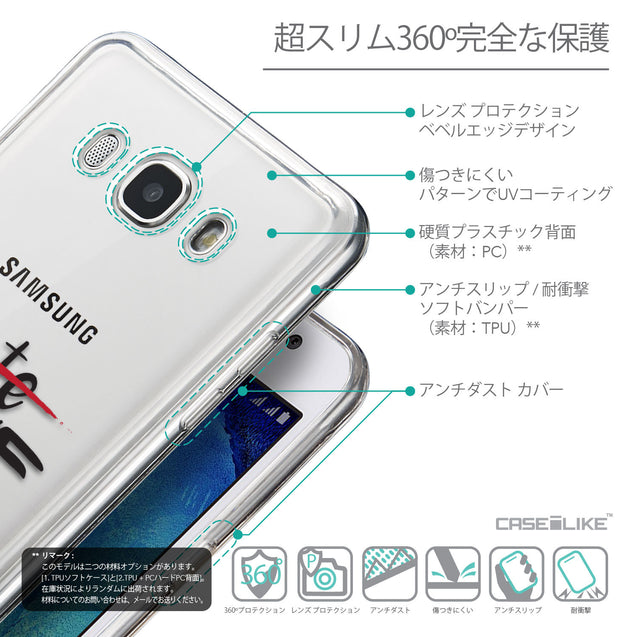 Details in Japanese - CASEiLIKE Samsung Galaxy J5 (2016) back cover Quote 2406