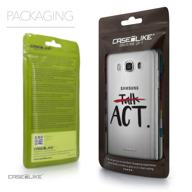 Packaging - CASEiLIKE Samsung Galaxy J5 (2016) back cover Quote 2408
