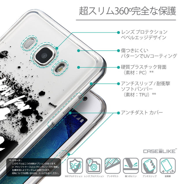 Details in Japanese - CASEiLIKE Samsung Galaxy J5 (2016) back cover Quote 2413