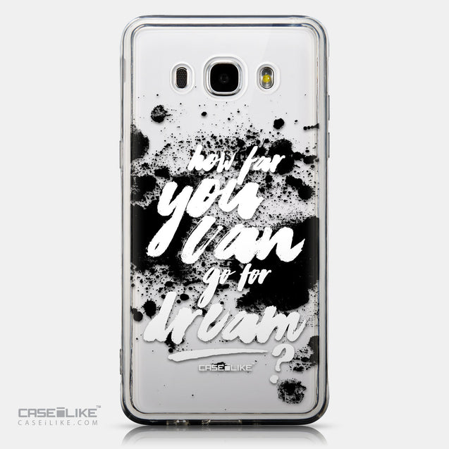 CASEiLIKE Samsung Galaxy J5 (2016) back cover Quote 2413