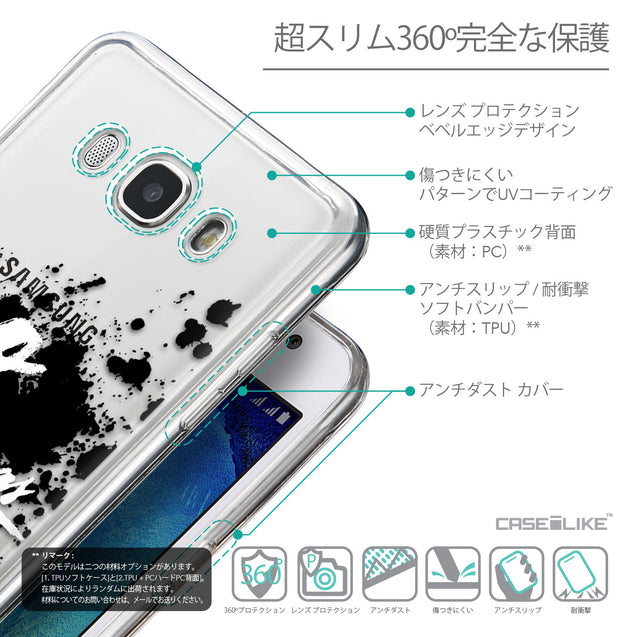 Details in Japanese - CASEiLIKE Samsung Galaxy J5 (2016) back cover Quote 2415