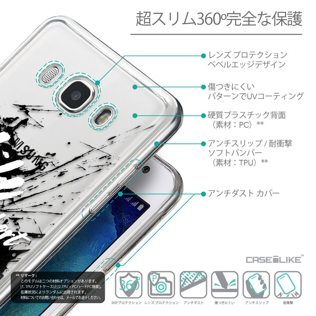 Details in Japanese - CASEiLIKE Samsung Galaxy J5 (2016) back cover Quote 2416