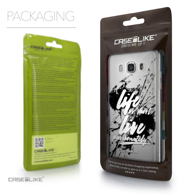 Packaging - CASEiLIKE Samsung Galaxy J5 (2016) back cover Quote 2416