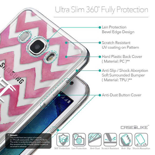 Details in English - CASEiLIKE Samsung Galaxy J5 (2016) back cover Quote 2419