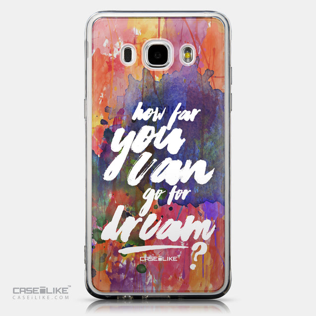 CASEiLIKE Samsung Galaxy J5 (2016) back cover Quote 2421
