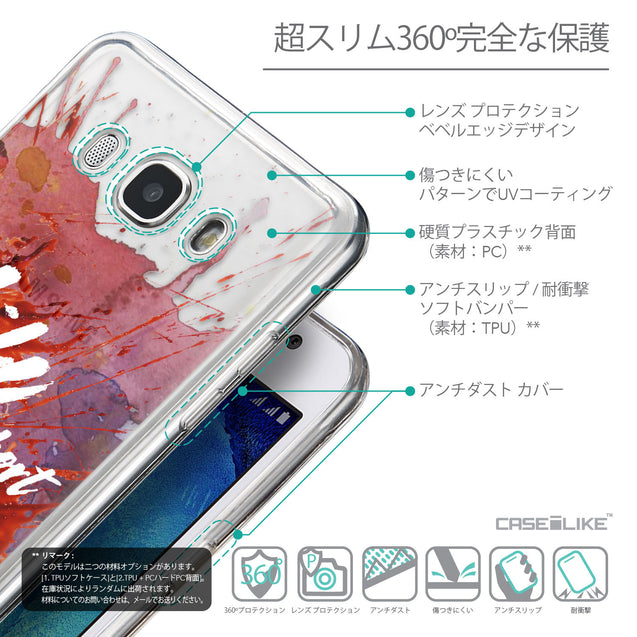 Details in Japanese - CASEiLIKE Samsung Galaxy J5 (2016) back cover Quote 2423