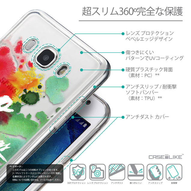 Details in Japanese - CASEiLIKE Samsung Galaxy J5 (2016) back cover Quote 2424