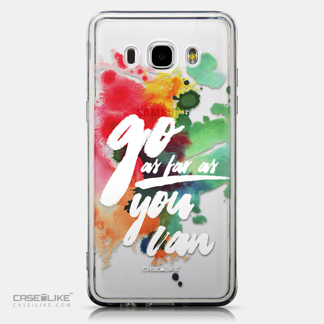 CASEiLIKE Samsung Galaxy J5 (2016) back cover Quote 2424