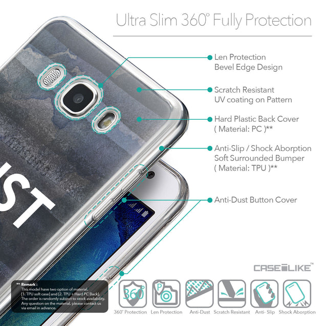 Details in English - CASEiLIKE Samsung Galaxy J5 (2016) back cover Quote 2430