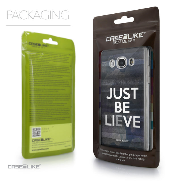 Packaging - CASEiLIKE Samsung Galaxy J5 (2016) back cover Quote 2430