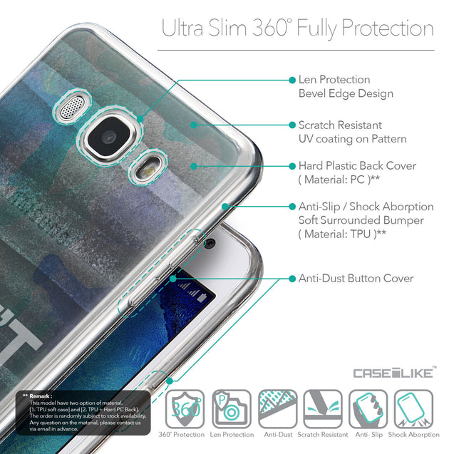 Details in English - CASEiLIKE Samsung Galaxy J5 (2016) back cover Quote 2431
