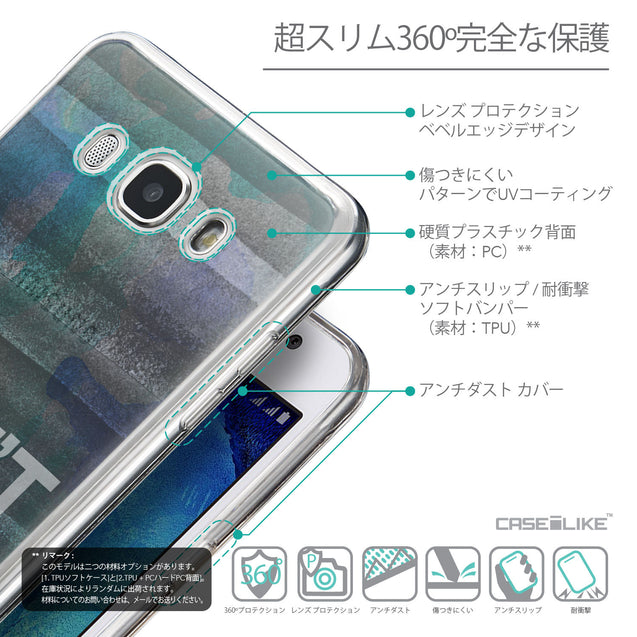 Details in Japanese - CASEiLIKE Samsung Galaxy J5 (2016) back cover Quote 2431